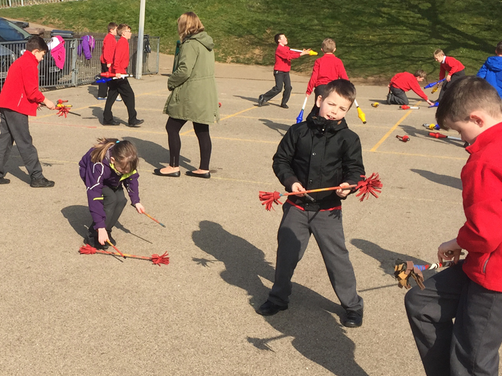 school circus day 2