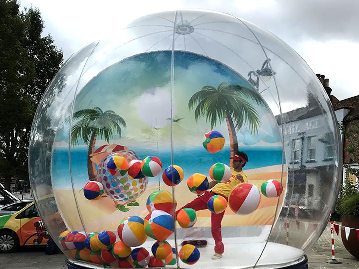 beach globe temp