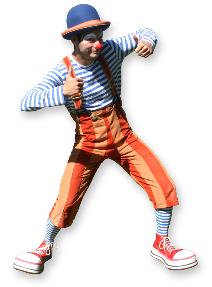 bonkers jr, multi skilled clown entertainer The Joker Entertainment providing circus entertainment, circus skills, stilt walking, balloon modelling, participation activity's and face painting in the Midlands, Nottinghamshire, Yorkshire, Leicestershire, Lincolnshire
