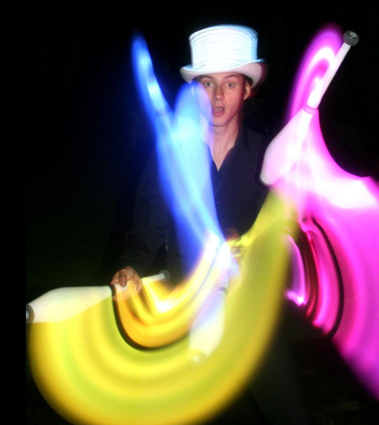 Glow Fire Entertainers The Joker Entertainment providing circus entertainment, circus skills, stilt walking, balloon modelling, participation activity's and face painting in the Midlands, Nottinghamshire, Yorkshire, Leicestershire, Lincolnshire, Chesterfield, Wingerworth, Matlock, Derbyshire, Darley Dale, Clowne, Alfreton, Ripley, Wirksworth, Sutton in Ashfield, Kirby in Ashfield, Nottinghamshire, Leicestershire, Staffordshire, Lincolnshire, South Yorkshire